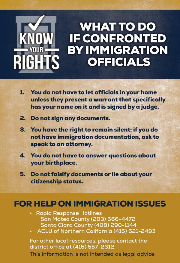 Immigrant Rights Information